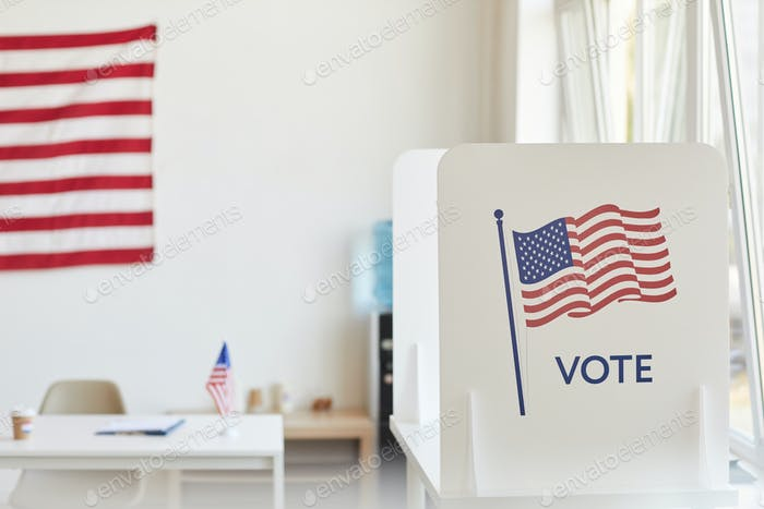 Voting Booth Background
