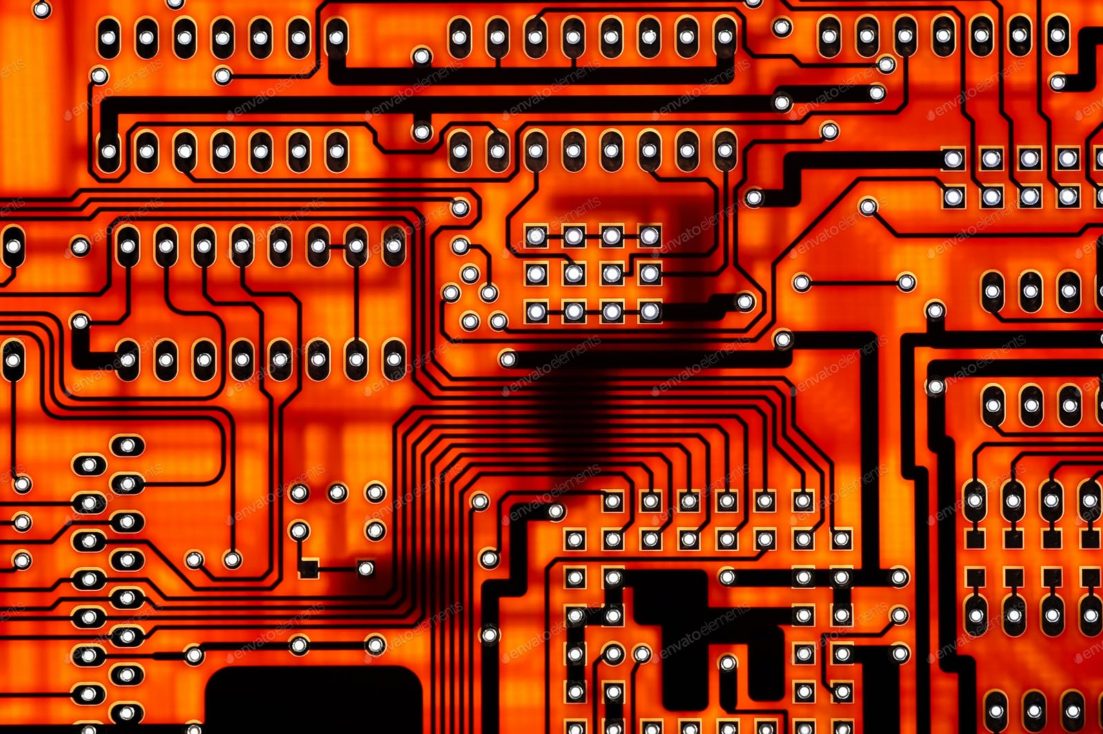 Download 3 Circuit Board Photos Envato Elements Royalty Free Image Of Background From Red Close Up