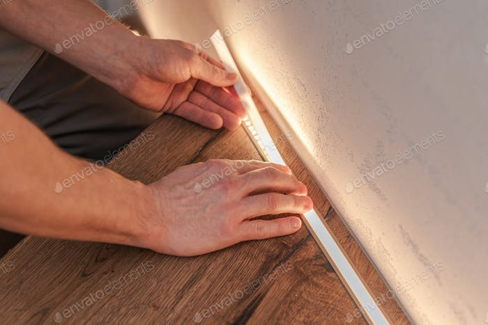 LED Treppenhaus-Beleuchtung