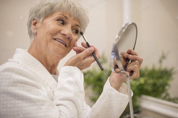 Make up is woman's best friend
