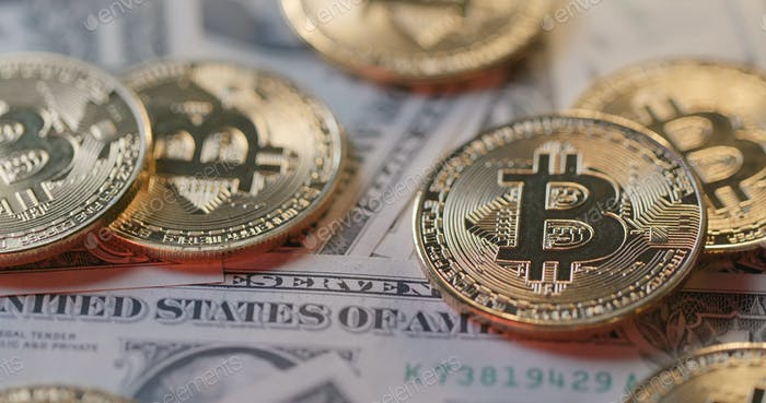 Rate of Bitcoin and US dollar