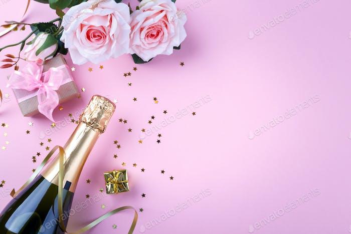 Valentine's day romantic background