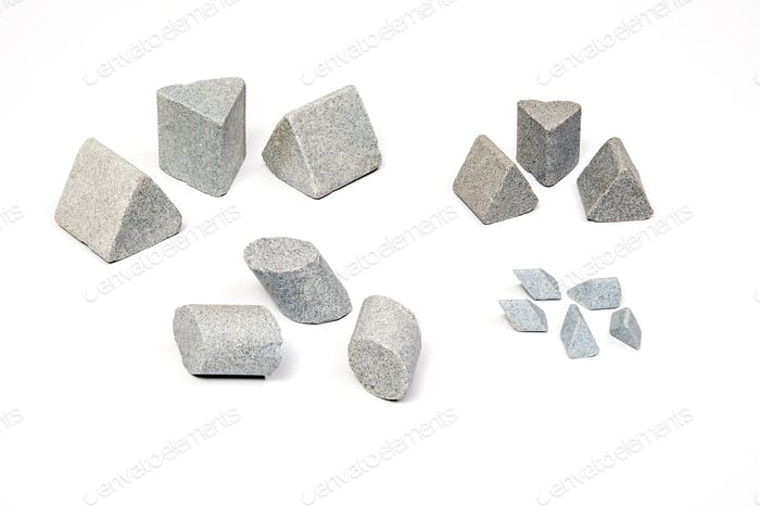 Industrial sharpening stones set