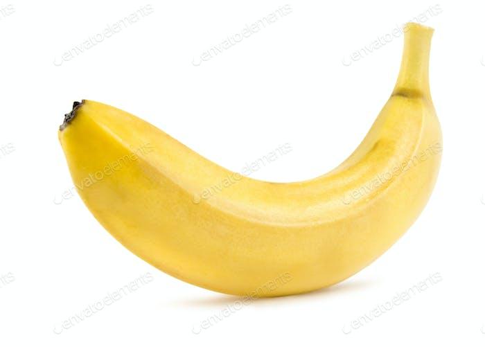 Reife Banane isoliert