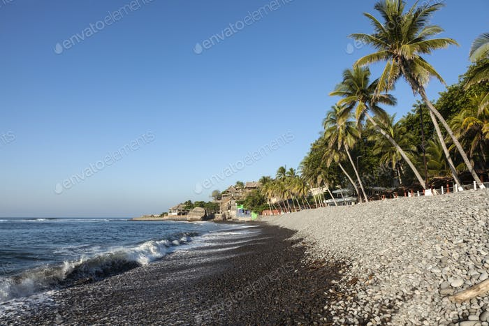 El Tunco Beach in Salvador