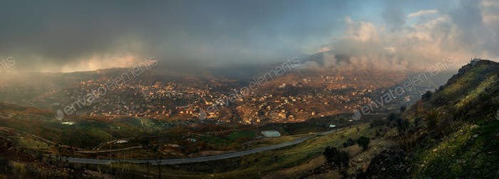 Lebanon Panoramic View