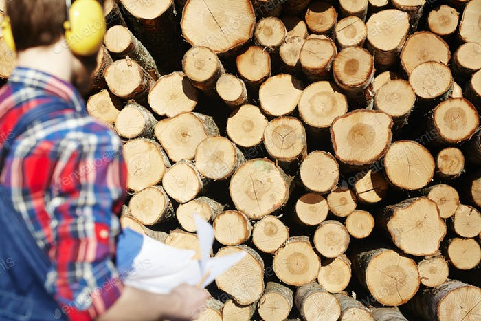 Logs and forester