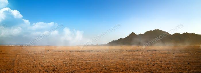 Mountains at surise