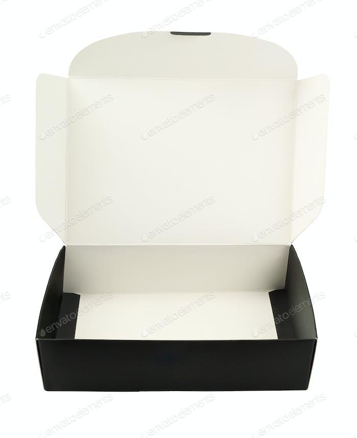 Leere Papierbox