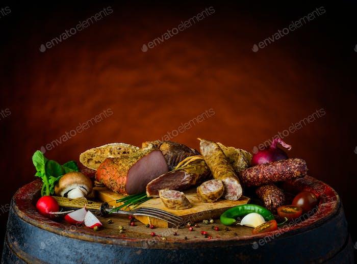 Rustic Food