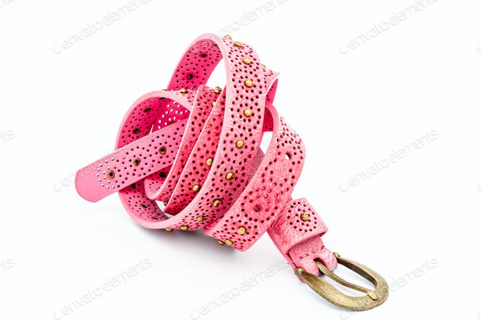 Pink women belts