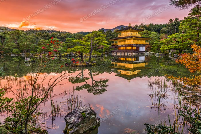 Kinkakuji-Tempel Kyoto