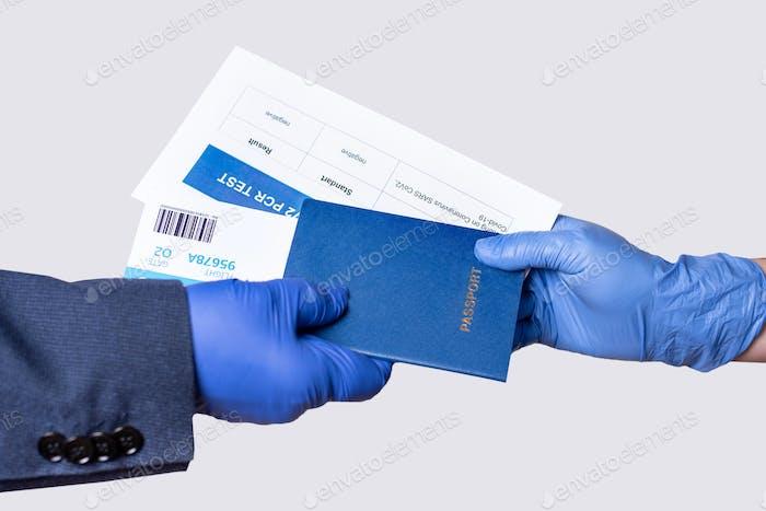 Dokumente des Reisenden