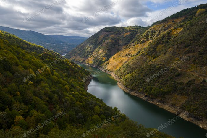 The river the core of the Ribeira Sacra