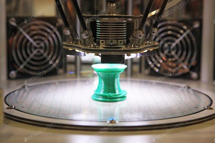 3D printer for plastic
