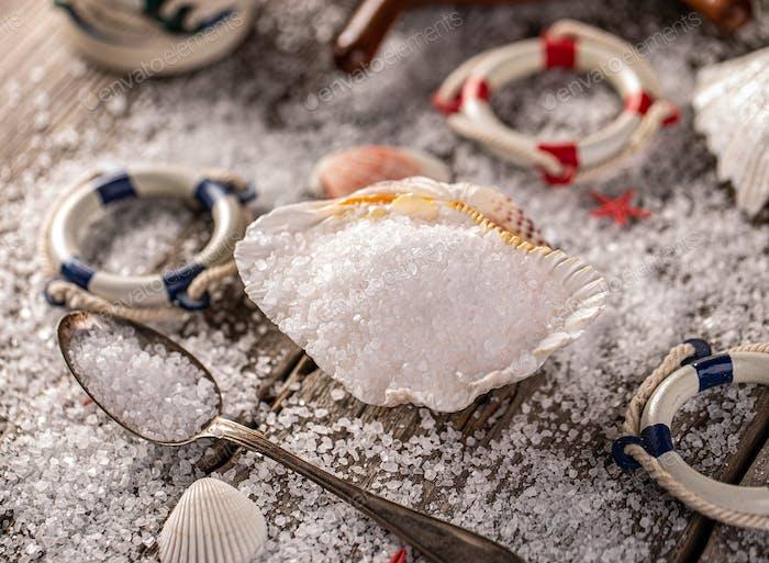 Sea salt concept