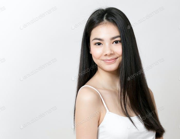 Asiatische Frau Mädchen Schönheit Porträt