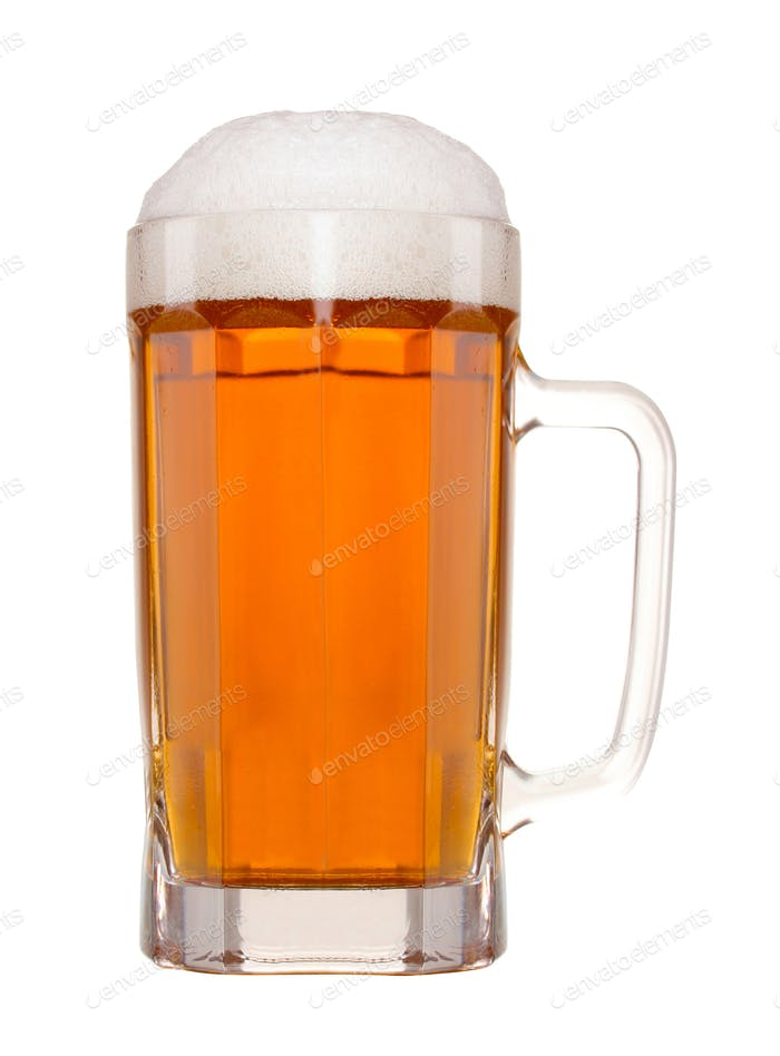 a glass o beer