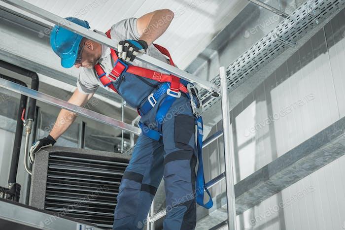 Almacén de reparación de dispositivos de calefacción de edificios Comercial