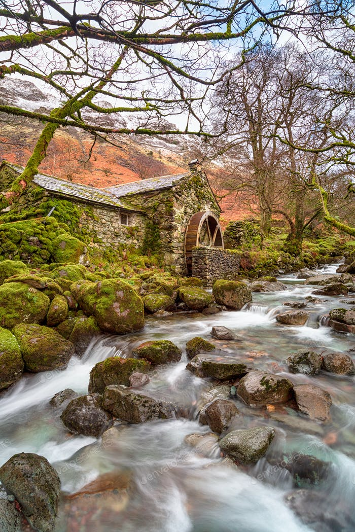 The old mill at Borrowdale