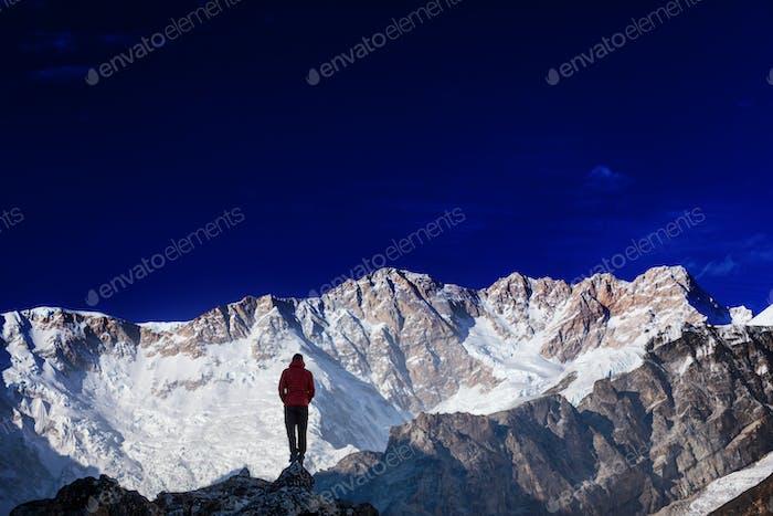 Wanderung im Himalaya