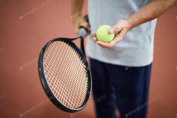 Equipment for tennis game