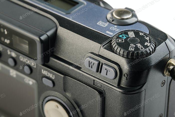 Kompakte Digitalkamera-Bedienfeld