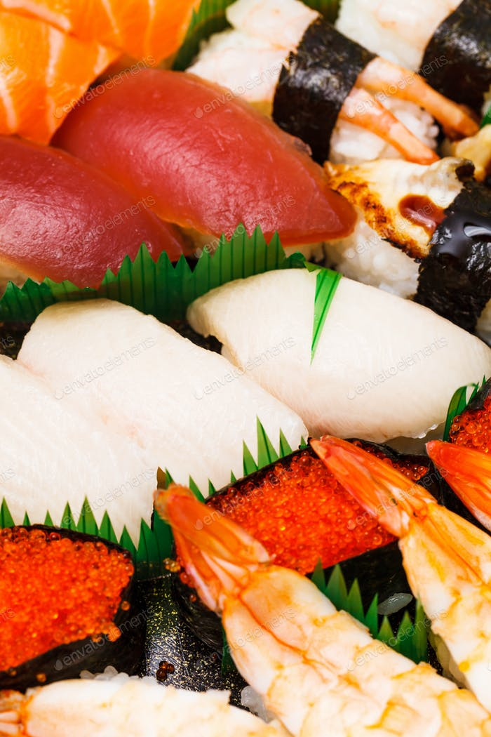 Japanese sushi takeaway
