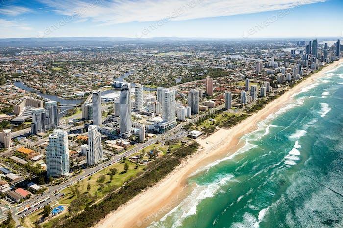 Gold Coast Luftbild