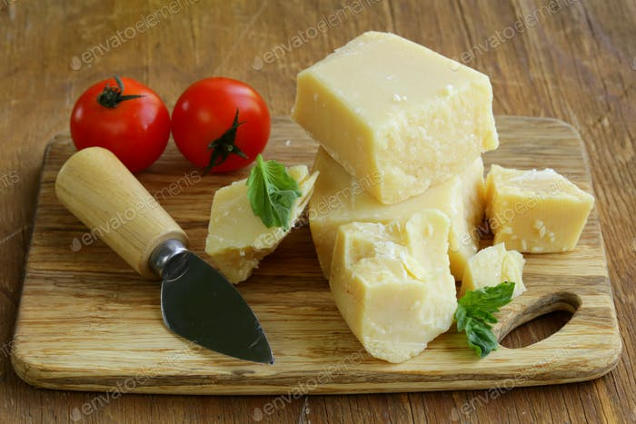 Hard Natural Parmesan Cheese