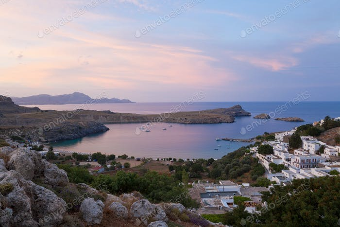 Lindos, Rhodes Island, Dodecanese Islands, Greece