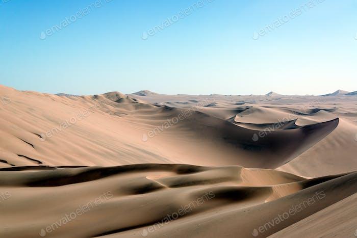 Sanddünen Wüste Landschaft