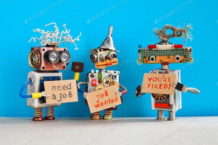 Автоматизированное увольнение и наем персонала. Отношения между работодателем и работником.