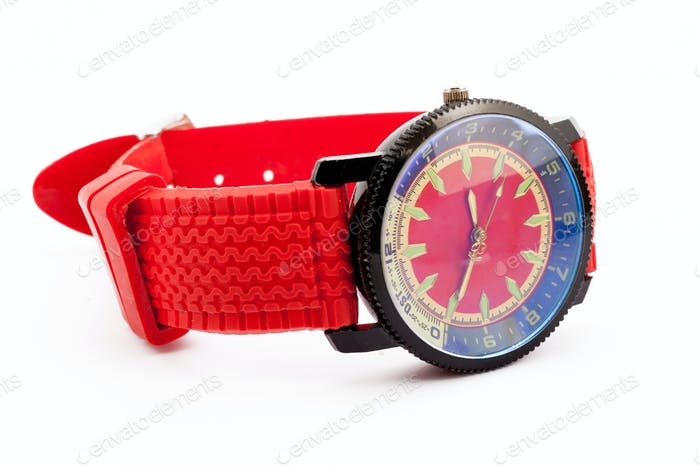 red man's watch
