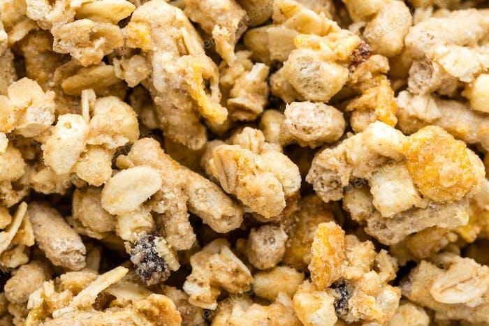 Granola-Hintergrund
