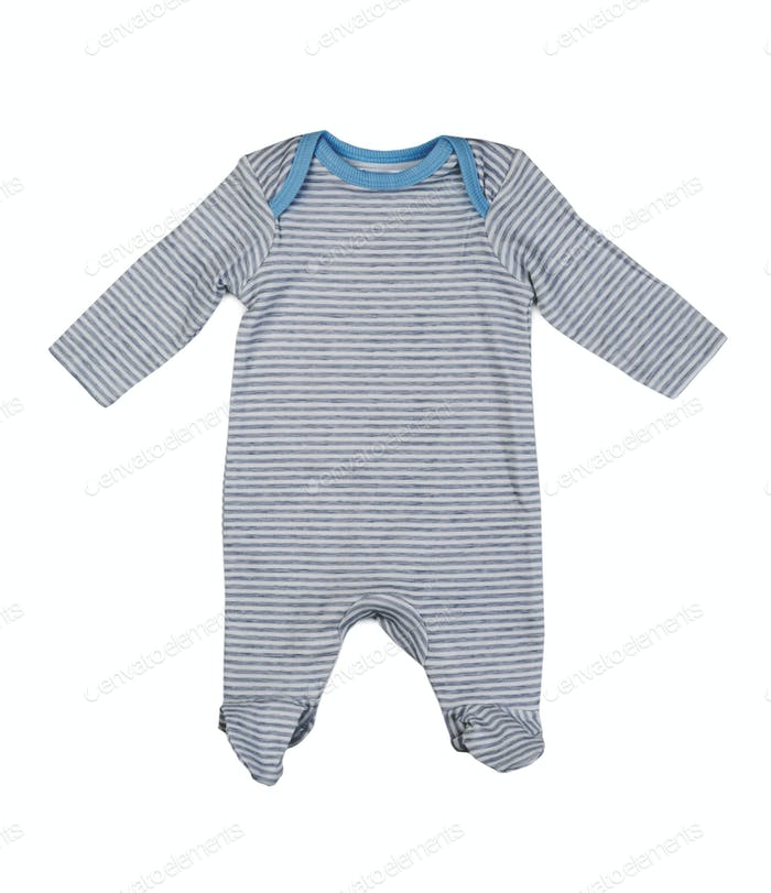 Grey rompers, isolate