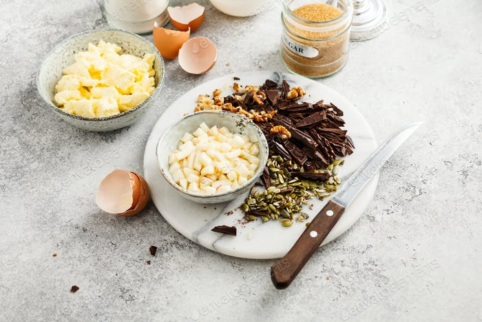 Baking tools and Ingredients
