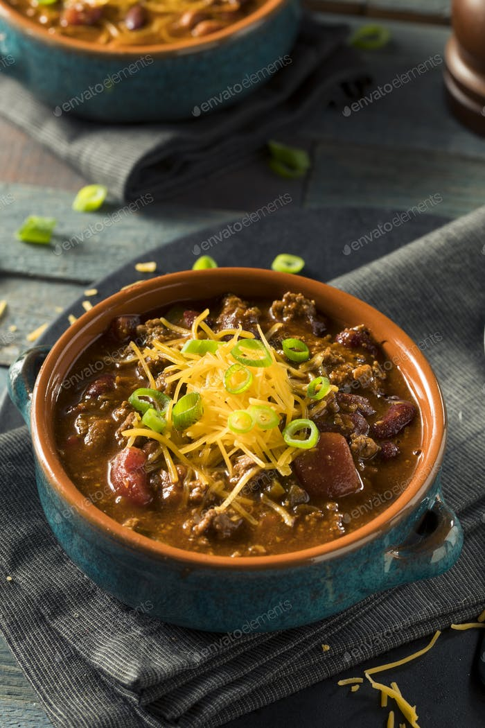 Homemade Beef Chili Con Carne