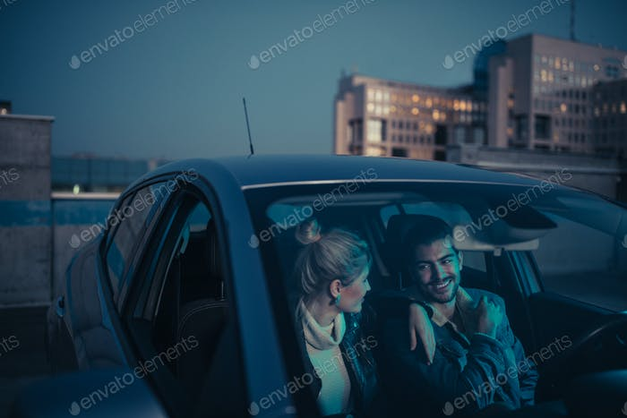 Just loving their romantic getaway
