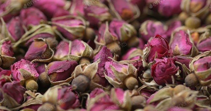 Herbal rose tea