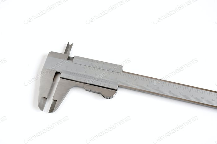 caliper on white