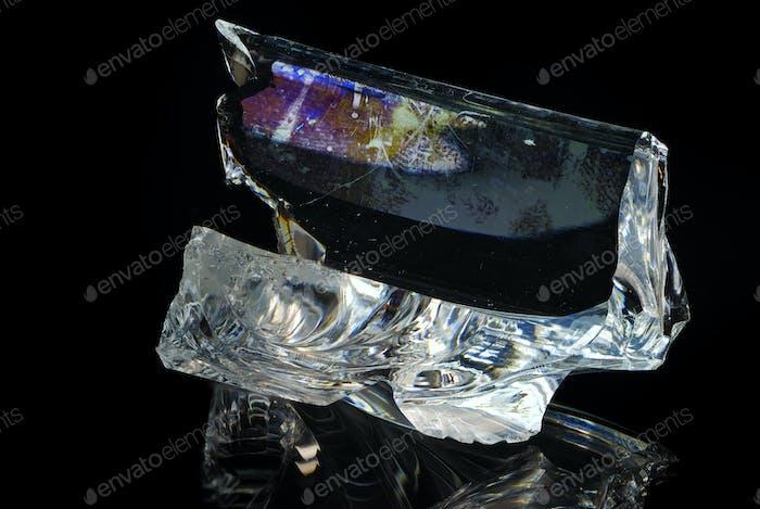 Broken Piece Of Glass