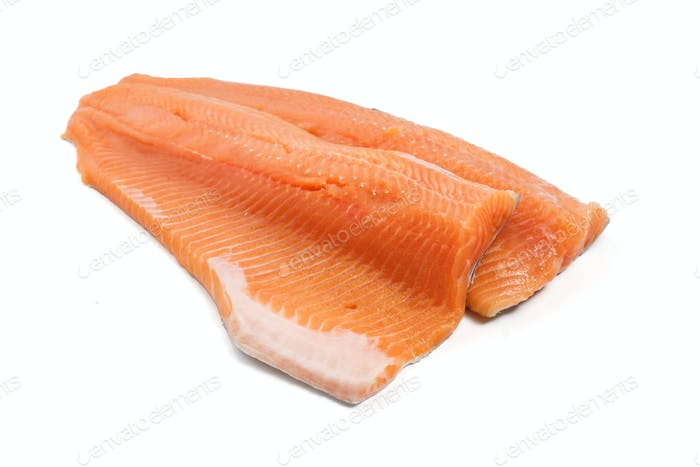 salmon trout fillet