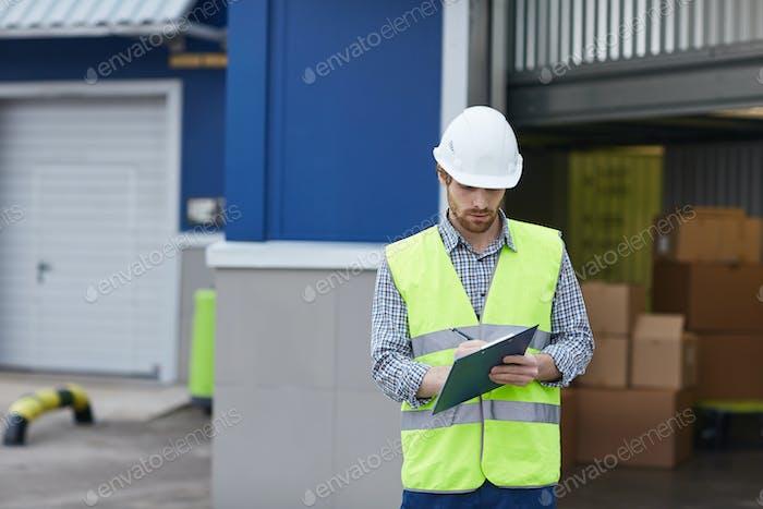 Man delivering load