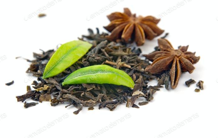 black tea anise