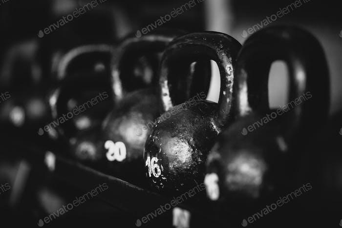 фон фитнес-гирь
