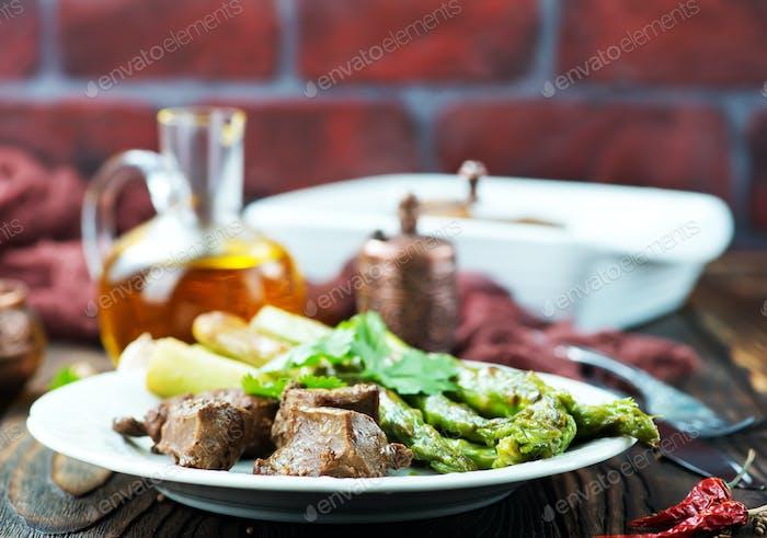 fried liver