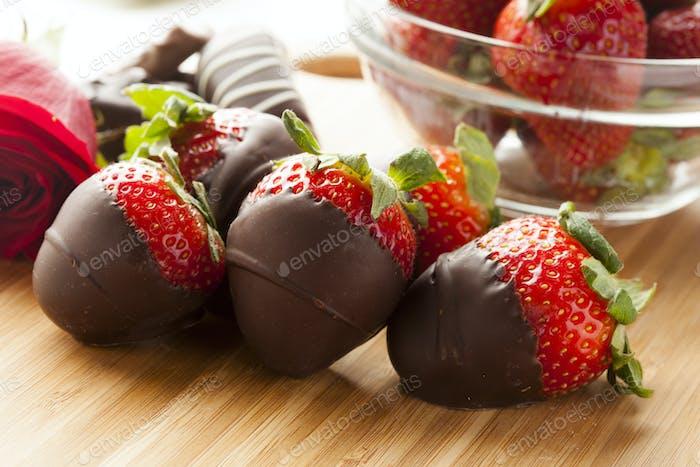 Gourmet Chocolate Covered Strawberries