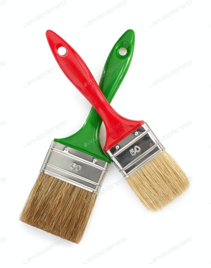 paintbrush tool on white background