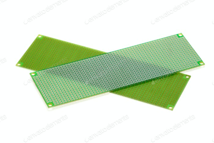 Two printed circuit board for prototyping